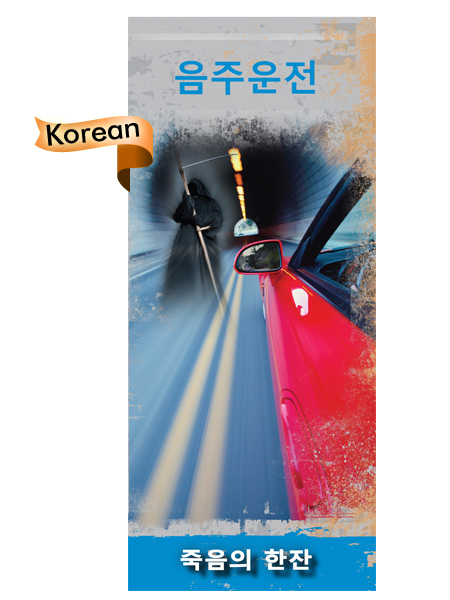 *KOREAN* Driving Under the Influence Pamphlet