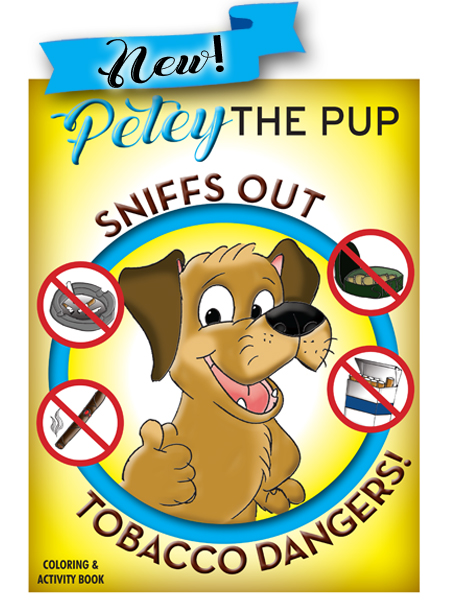Petey the Pup:  Tobacco Dangers Activity Book