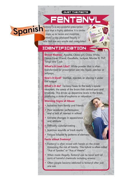 *SPANISH* Just the Facts Rack Card: Fentanyl