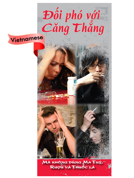 *VIETNAMESE* Dealing with Stress: Without Drugs, Alcohol & Tobacco Pamphlet