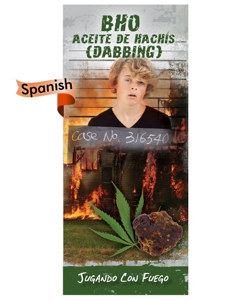 *SPANISH* BHO Butane Hash Oil (Dabbing) Pamphlet