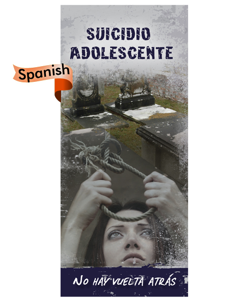 *SPANISH* Teen Suicide: No Turning Back Pamphlet