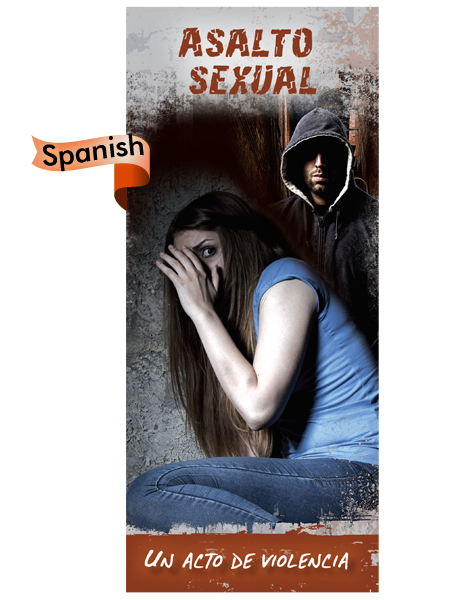 *SPANISH* Sexual Assault: An Act of Violence Pamphlet
