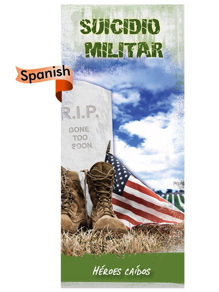 *SPANISH* Military Suicide: Fallen Heroes Pamphlet