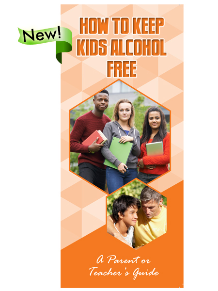 How to Keep Kids Alcohol Free Pamphlet