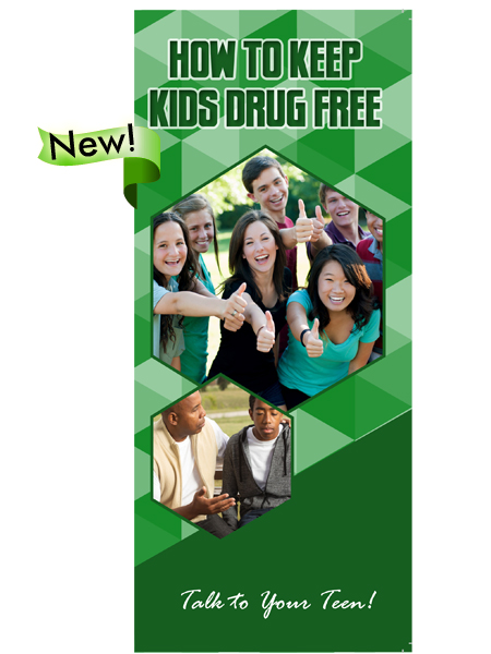 How to Keep Kids Drug Free Pamphlet
