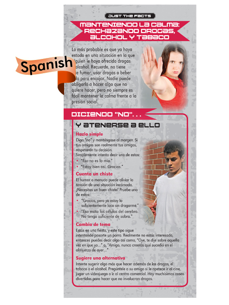 *SPANISH* Just the Facts Rack Card: Keeping Your Cool