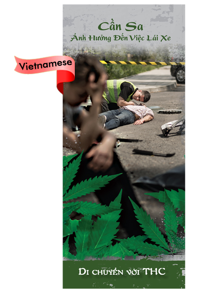 *VIETNAMESE* Marijuana Effects on Driving Pamphlet