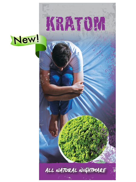 Kratom: All Natural Nightmare Pamphlet