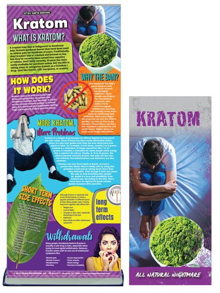 Kratom Retractable Banner Package