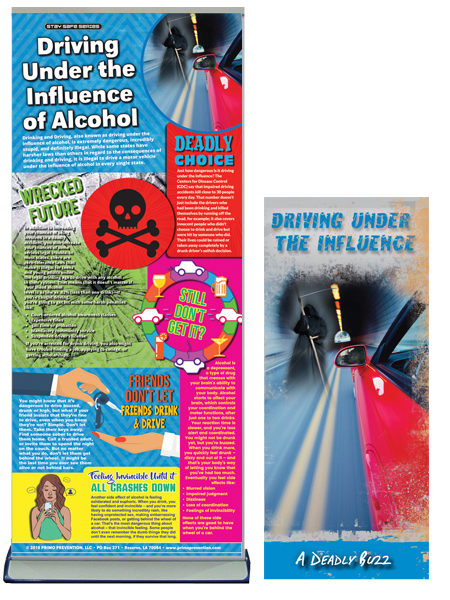 Driving Under the Influence of Alcohol Banner Package