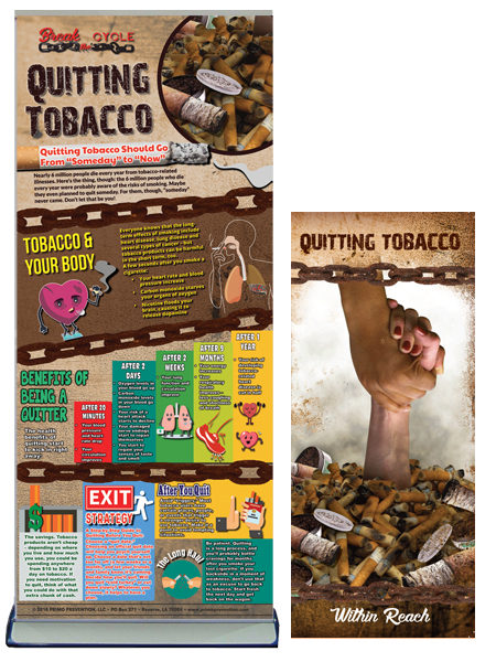 Break the Cycle: Quitting Tobacco Retractable Banner Package