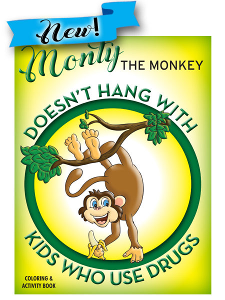 Monty the Monkey:  Drug Prevention Activity Book