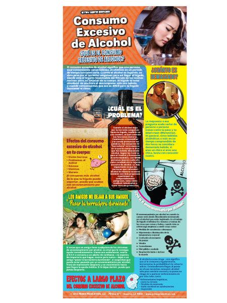*SPANISH* Binge Drinking Retractable Banner