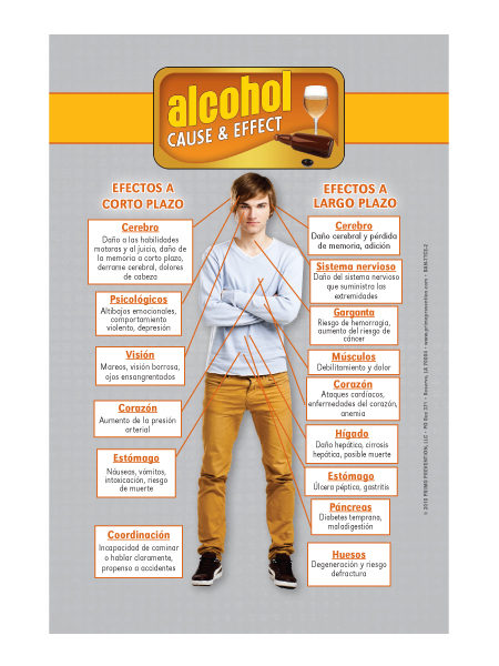 *SPANISH* Table Top Retractable Banner C&E Alcohol