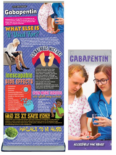 Gabapentin Retractable Banner Package