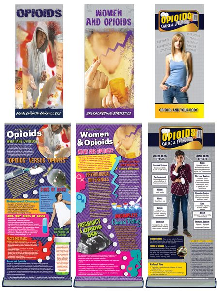 Opioids Epidemic Retractable Banner Package