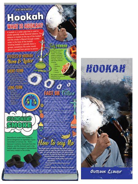 Hookah Retractable Banner Package