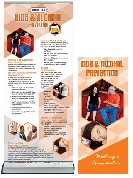 Starting a Conversation: Kids & Alcohol Retractable Banner Package