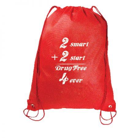 2 Smart 2 Start - Drawstring Backpack
