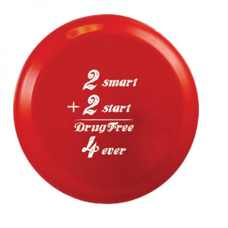 2 Smart 2 Start: Drug Free - 9 inch Flying Disk