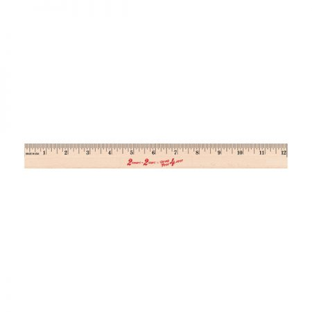 12 inch Wooden Ruler