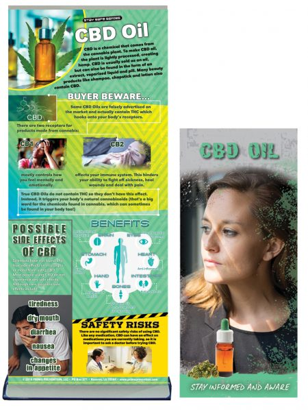 CBD Oil Retractable Banner Package