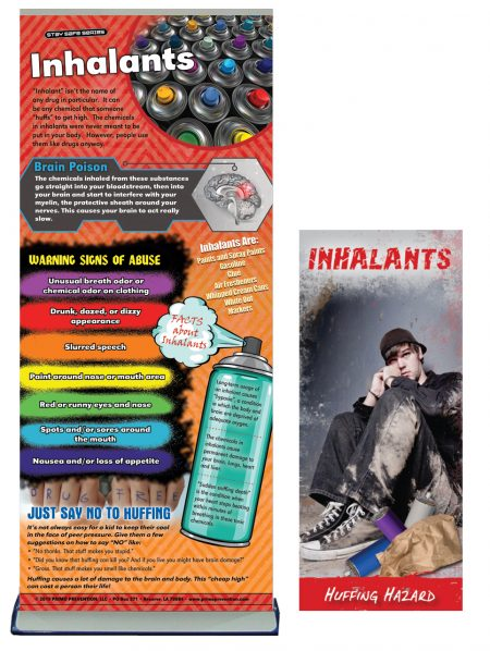Inhalants Prevention Retractable Banner Package