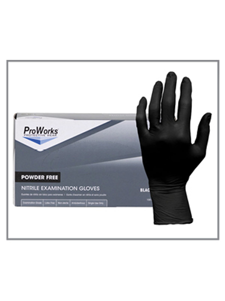 3 MIL Nitrile Exam Gloves