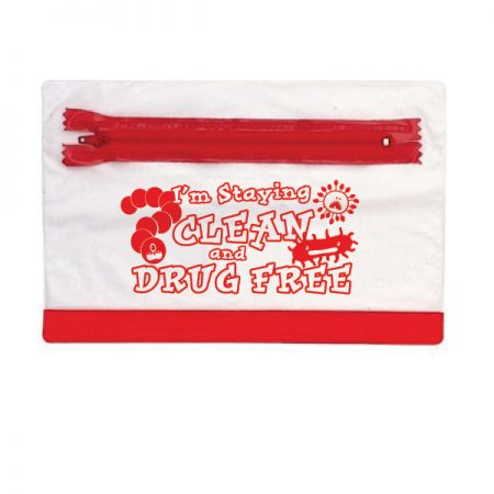 I'm Staying Clean and Drug Free Pencil Pouch