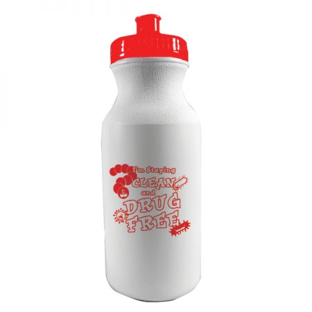 I'm Staying Clean and Drug Free 20 oz. Sports Bottle