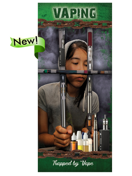 Vaping: Trapped By Vape Pamphlet