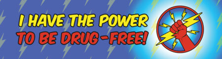I Have the Power to Be Drug Free Bookmark
