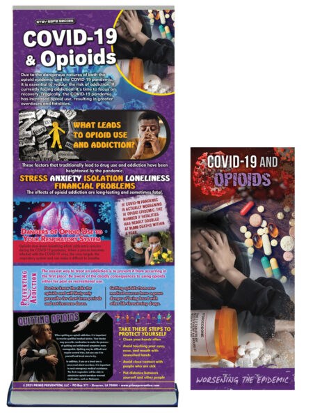 COVID-19 & Opioids Retractable Banner Package
